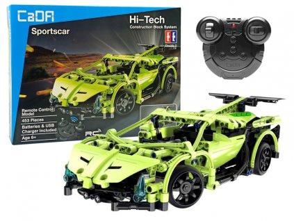 CADA Stavebnica Auto Sports RC 2.4G - 453 dielov