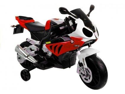 Elektrická motorka BMW S1000RR Červená
