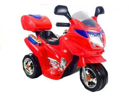 Elektrická motorka BAYO HC8051 Červená