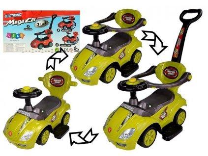 Odrážadlo Mega Car 3v1 - žlté