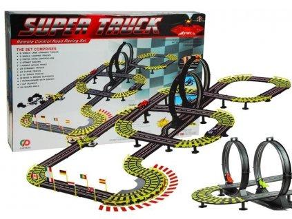Autodráha pre dve autá Track Racing 1157cm