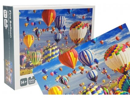 Puzzle Fire Baloon 1000 dielov