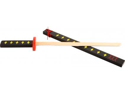 Small Foot Japonský drevený meč Katana