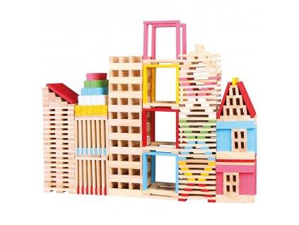 Bino Drevená stavebnica mesto