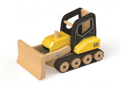 Tidlo drevený buldozer