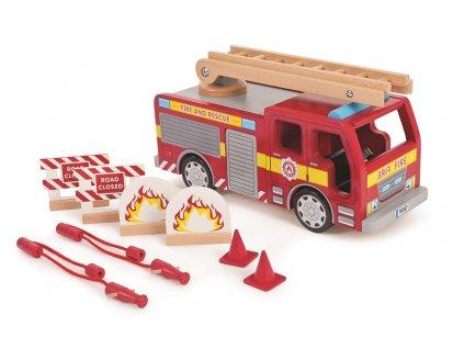 Tidlo Dreveny požiarny voz