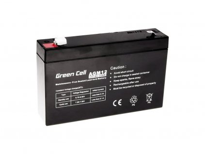 Batéria 6 V 7 Ah