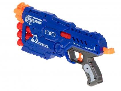 BLAZE STORM Detská pištoľ+ 10 penových nábojov malypretekar (4)