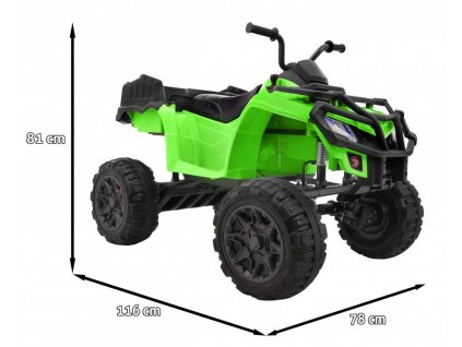 Elektrická štvorkolka QUAD XL ATV 4x4 malypretekar 01