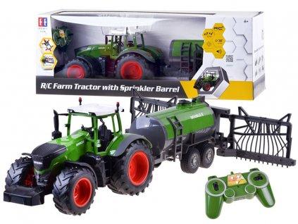 RC Double E Traktor na diaľkové ovládanie s cisternou 2,4 GHz (1)