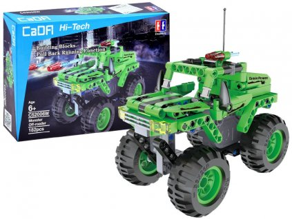RC CADA TECHNIC Stavebnica MONSTER 182 ks dielov (1)