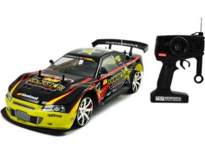 Malyretekar NQD NISSAN SKYLINE GT R ROCKSTAR 25 km h dosah 50 m orava hracky RC modely modely na diaľkové ovládanie (3)