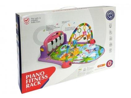 Vzdelávacia hracia podložka s klavírom Piano Fitness (2)