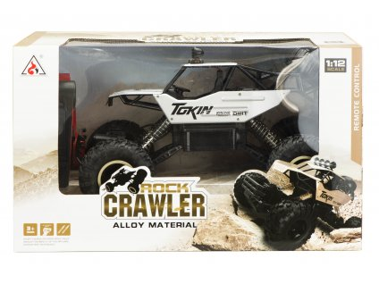 RC ROCK CRAWLER METAL 4WD 112 malypretekar 35 km h batéria 7,4 V 700 mAh hracky rc modely orava liesek dar