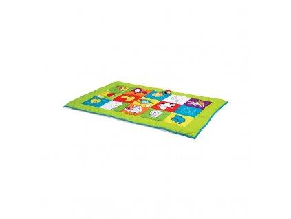 EDUSHAPE Senzomotorická obojstranná hracia podložka BABY MAT (2)