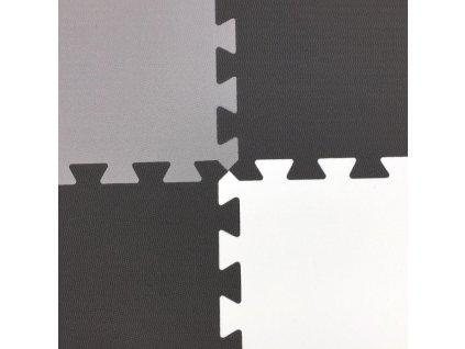 ToyFM Penové puzzle koberec MAXI EVA 9 Kvietok s vlnovým okrajom (3)
