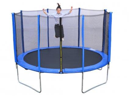 R SPORT Trampolína 8FT 252 cm + ochranná sieťka + rebrík (1)