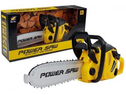 LEAN Detská motorová píla na batérie POWER SAW hračky pre chlapcov náradie detské náradie (1)