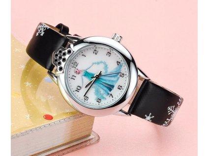 Detské náramkové hodinky FROZEN Ľadové kráľovstvo Anna a Elsa (25)