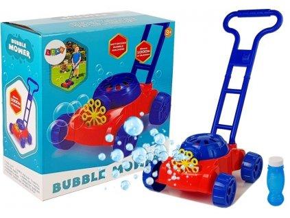 Detská kosačka BUBLE MACHINE Detský bublifuk kosačka na tvorbu mydlových bublín (1)