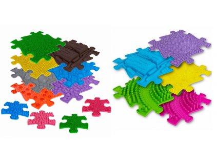ASKA Senzomotorický koberec pre deti EXCELLENT 16 ks puzzle