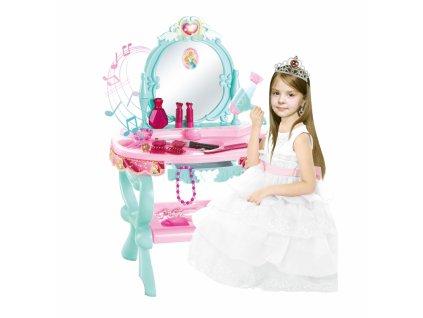 WOOPIE Dievčenský kozmetický stolík ANNA + 21 doplnkov (2)