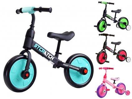 Detský bicykel 3v1 ROWER do 30 kg, penové kolesá EVA (14)