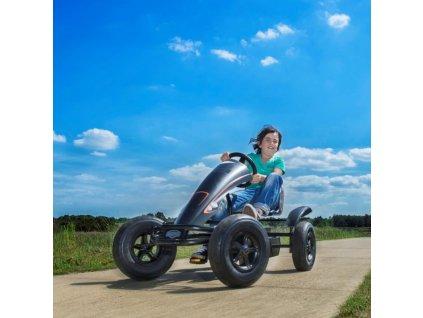 BERG GOKART Šliapacia kára na pedále Black Edition BFR do 100 kg motokára na pedále (1)