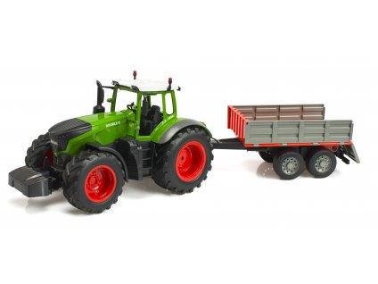 RC DOUBLE E Farm Tractor Dumping Suit 116 malypretekar RC model traktor s prívesom na diaľkové ovládanie hracky hrackarstvo orava (1 (12)