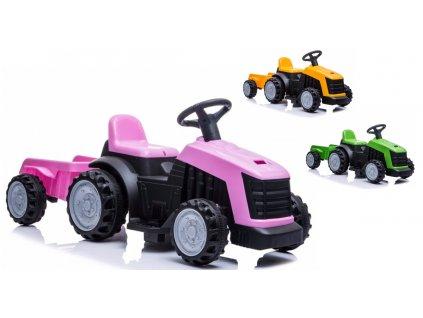LEAN Elektrický traktor s vlečkou KASE traktor na batérie 01
