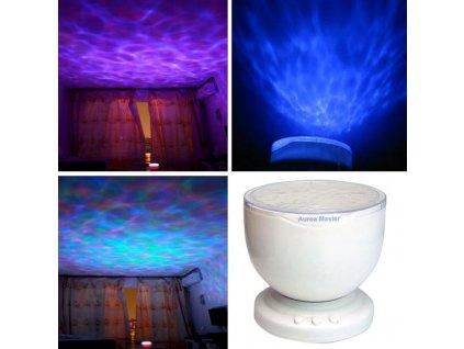 EMPIS LED Svetelný projektor OCEÁN terapia snoezelen rozvoj zmyslového vnímania (1)