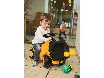 Rolly Toys Detské odrážadlo DUMPER JCB detské odrážadlo JCB (1)
