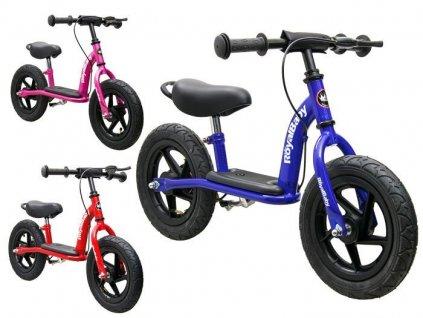 RoyalBaby Detské bicyklové odrážadlo EXTREME penové kolesá (13)