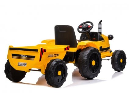 Elektrický traktor s vlečkou DIESEL detský elektrický traktor traktor na batériu detský traktor 01
