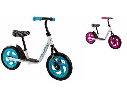 LEAN BIKE Detské bicyklové odrážadlo MASSIMO detské bežecké odrážadlo detský bicykel balančný bicykel 001