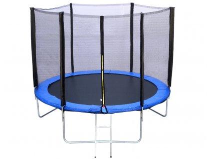 R SPORT Trampolína 12FT 374 cm + ochranná sieťka + rebrík (4)
