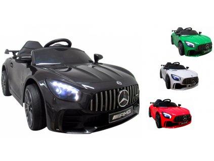 Mercedes Elektrické autíčko GTR S elektrické auto mercedes penové kolieska autíčko na batérie 01