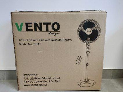 LEAN Podlahový ventilátor 40 W priemer 40 cm s diaľkovým ovládaním nástenný ventilátor stolový ventilátor 001