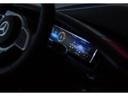 Mercedes Elektrické policajné auto EQC 400 POLICE policajné elektrické autíčko elektrické auto polícia (11)