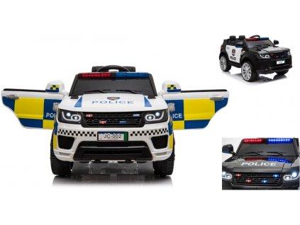 LEAN Elektrické policajné auto POLICE JC002 policajné auto elektrické auto pre deti 001