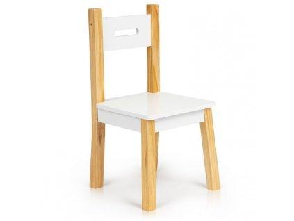 EcoToys Detský drevený stolík s dvoma stoličkami RIŠKO detský nábytok do izby (8)