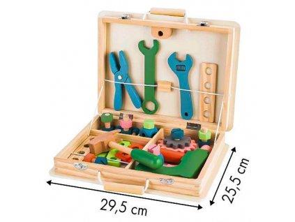 EcoToys Detské drevené náradie v kufríku JOŽKO (1)