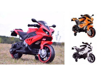 SUPER TOYS Elektrická motorka MOTO 007 motorka pre deti motorka pre dieťa elektrická motorka 00