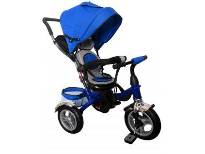 Športový kočík R sport T3 maly pretekar modrá ružová 3v1 nafukovacie kolesá (8)