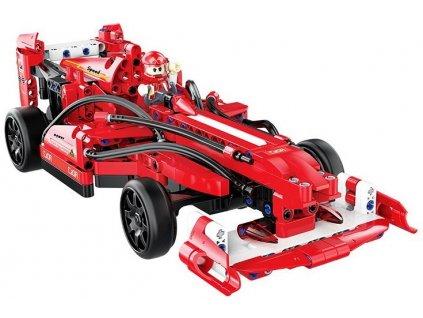RC CADA TECHNIC DOUBLE E Stavebnica Formula SPORT CAR 317 kusov dielov červená 2,4 GHz (5)
