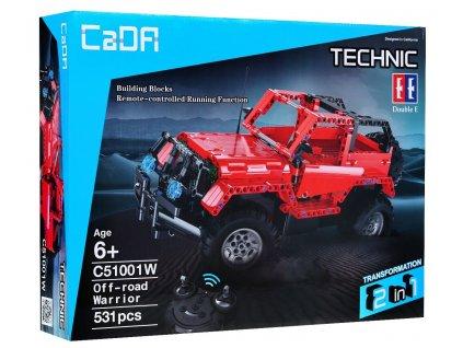 RC CADA TECHNIC Off Road Warrior 531 kusov dielov malypretekar LEGO hracky stavebnice liesek hrackarstvo darček dar orava (4)