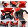 MP Elektrická motorka BIG M3 červená, 2x35W RG099