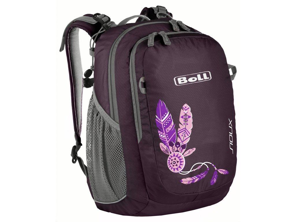 Boll Sioux 15 purple dětský batoho pro školáky