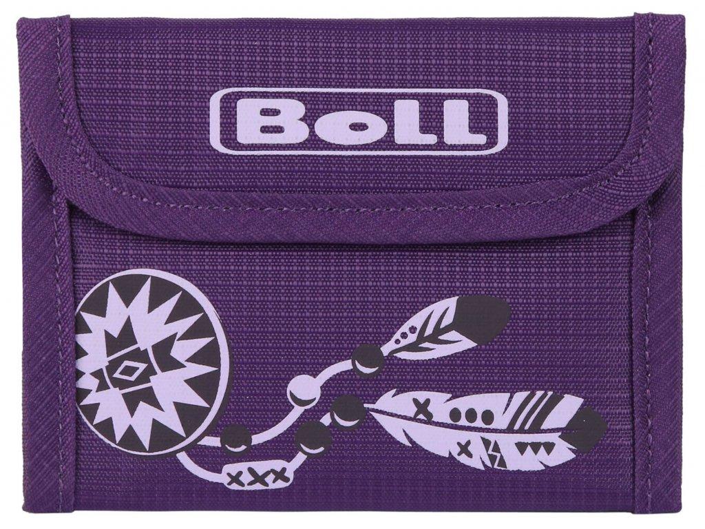 Boll Kids Wallet Violet peněženka dětská