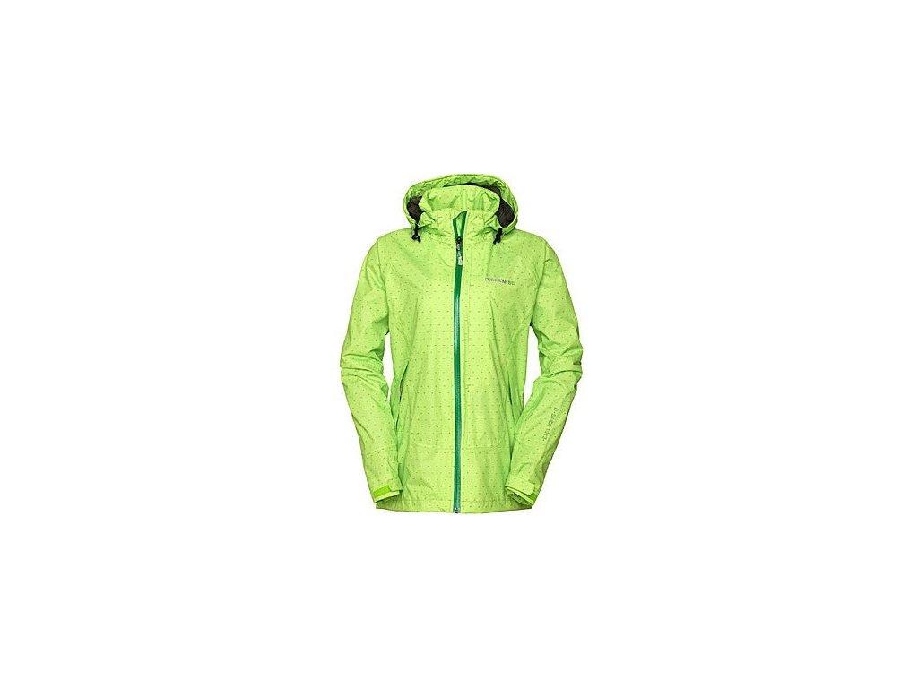 Didriksons 1913 FLITE PRINT dětská nepromokavá bunda - Zelená